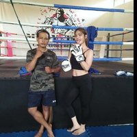 Personal trainer muaythai dn boxing private terima private door to door ke tempat anda